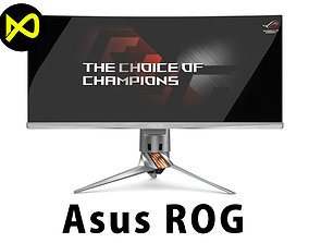 3D Asus ROG Swift PG348Q Best Gaming Monitor