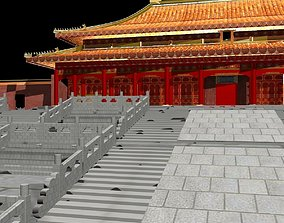 Chinese forbidden city 3D model
