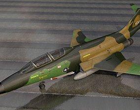 3D model McDonnell RF-101B Voodoo