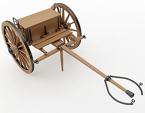 Napoleon Model 1841 6 pounder Limber 3D