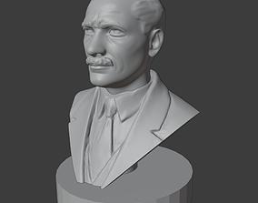 3D print model Mustafa Kemal ATATURK