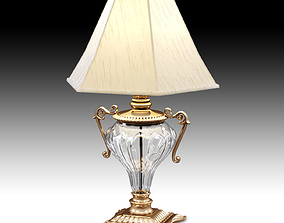 3D Griffiths and Griffiths 74027 antique brass crystal