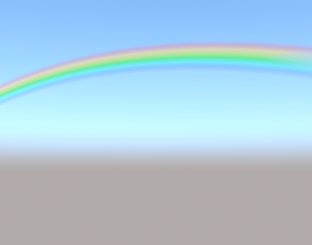 3D model rainbow
