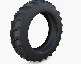 3D Tractor Tire v2