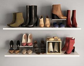 3D Womens shoes 02
