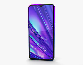 3D model Realme 5 Pro Crystal Blue