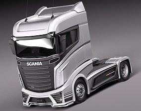 3D Scania R1000 2014 Vehicle