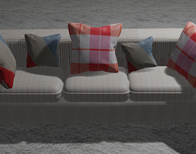 cama 3D living room sofa