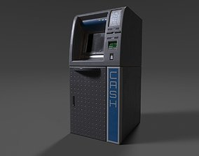 ATM Cashmachine 01 3D model