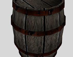 Barrel 3D asset