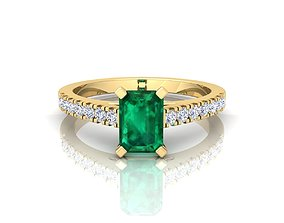 collection Solitaire Ring 3d Print Model