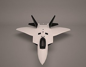 Military Aircraft 3D model bomber