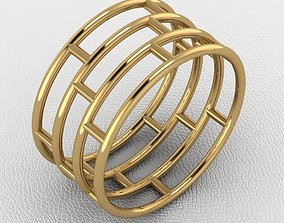 rings lace ring 3D printable model
