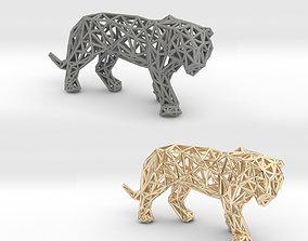 3D print model wild Sumatran Tiger
