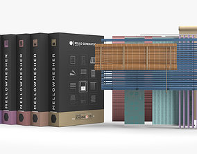 Interior Blind Generator Collection HDA 3D asset