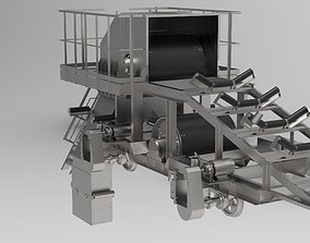 Heavy machine for the mining industry 3D asset
