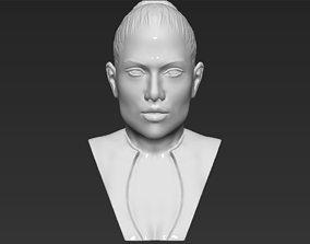 Jennifer Lopez bust 3D printing ready stl obj