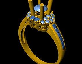 fashion 3D printable model DiamondRing