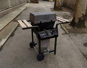 3D model Propane Gas Grill