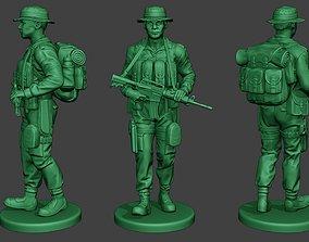 Modern Jungle Soldier Walk MJS1 3D printable model