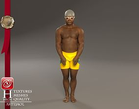 3D model Swimming pool Male ABL 3140 0001