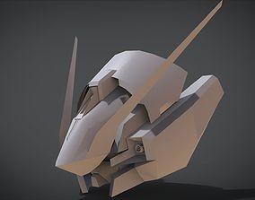 RX-124 Gundam TR-6 Head 3D print model