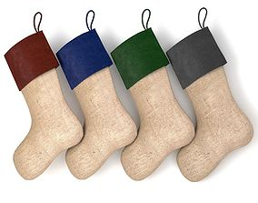 Christmas Stocking V1 3D PBR
