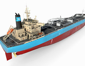 Oil Products Tanker Maersk 3D