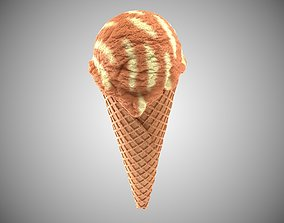 dessert 3D model Icecream