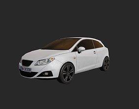 3D model Low Poly Car 4