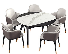 Dining Room Set 271 3D model