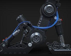 Sci Fi Landing Gear 3D model