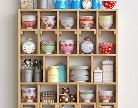 Lovely kitchen set 3D