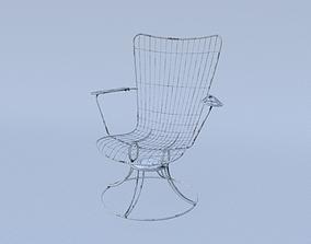 3D model arm Arm Chair