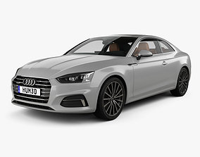 3D Audi A5 coupe with HQ interior 2016