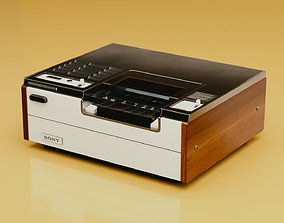 3D Old video recorder