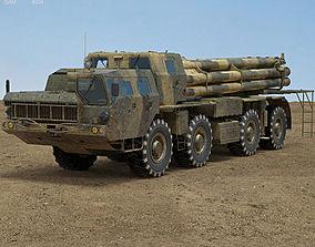 BM-30 Smerch 3D