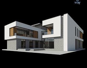 3D model Modern Villa Design 019