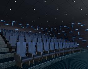3D model Modern Cinema Hall 02