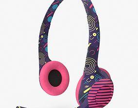 Headphones 3D model PBR