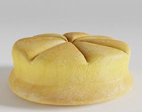 Ancient Roman Bread 3D model