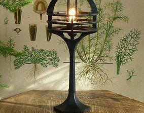 Art deco table lamp lighting 3D printable model