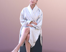 Elena 10682 - Sitting Spa Girl 3D model