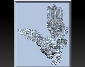 3D engraving eagle