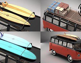 Volkswagen T1 Samba 1959 Accessories 3D