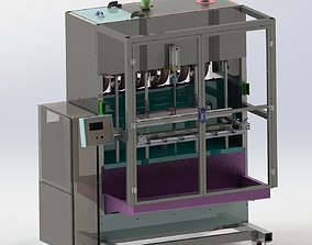 Filling machine 3D