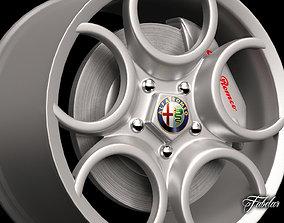 3D model Alfa 8C rim