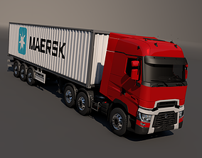 3D model Renault T Range Container