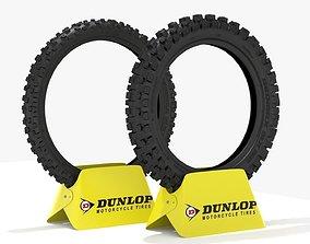 3D Dunlop Geomax MX52 Tires