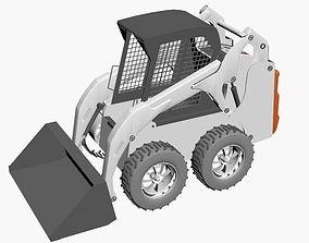 3D model pickup Bobcat constructor